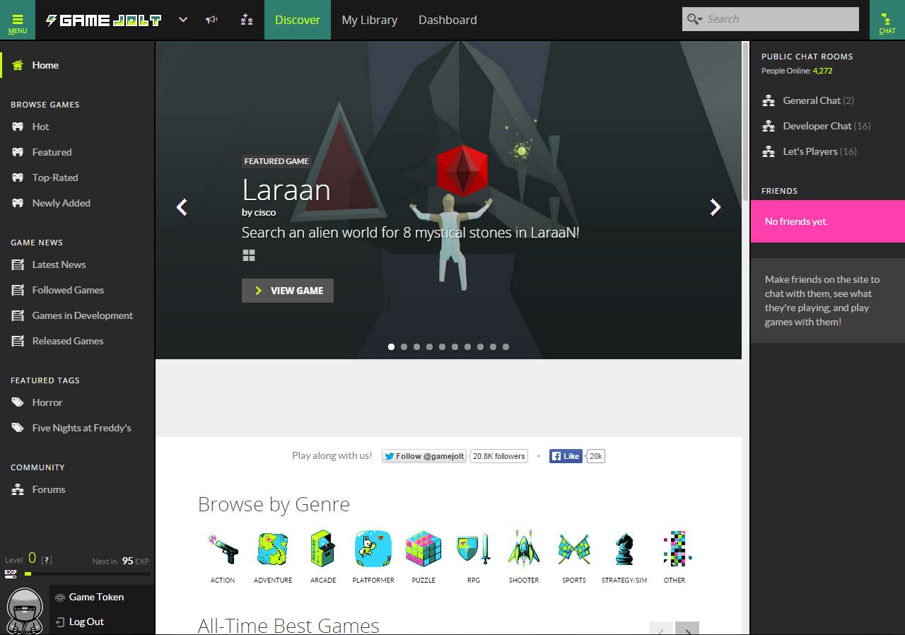Laraan At Featured Games Game Jolt Flynns Arcades